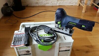 FESTOOL Carvex PS 400 EBQ Jigsaw 240V In Systainer T-Loc