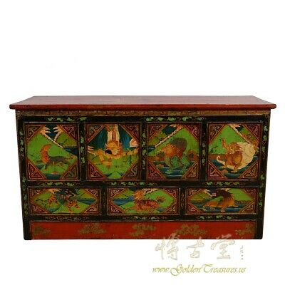 Tibetan Antique Altar Prayer/Coffee Table
