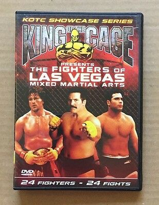 Original 2005 King Of The Cage 'The Fighters Of Las Vegas' Two Disc DVD's UFC
