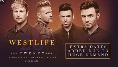 Westlife Seated Tickets Newcastle UK