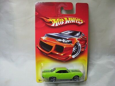 Contemporary Manufacture Cars, Trucks & Vans 2007 Hot Wheels Wal-Mart Red Card '70 Plymouth Road Runner
