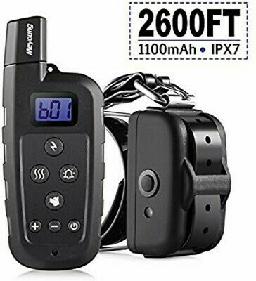 Meyoung Dog Training Collar - Remote Controlled 2600 FT, 3 Modes (Shock, Beep)