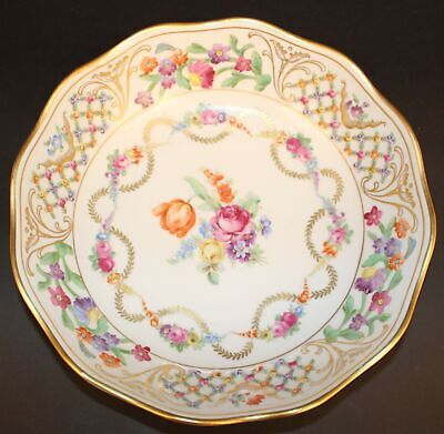 "Schumann Dresden Flowers Garland 9"" Serving Bowl"