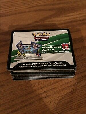 10x Pokemon TCG Online XY Evolutions Code Card for TCGO Booster Packs