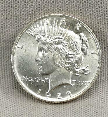 1923 Peace Silver Dollar! No Reserve!