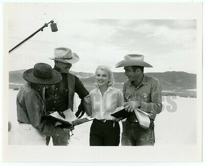 Marilyn Monroe Clark Gable Misfits '60 Original Vintage Photograph By Eve Arnold