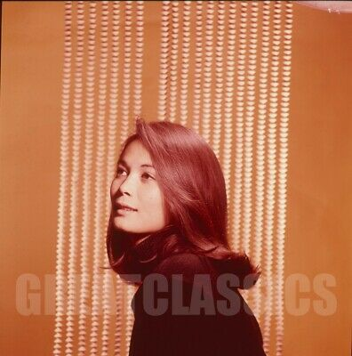 NANCY KWAN YOUNG BEAUTIFUL 1960s 2 1/4 COLOR CAMERA TRANSPARENCY PETER BASCH