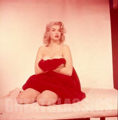 JAYNE MANSFIELD 1950s BREATHTAKING 2 1/4 CAMERA TRANSPARENCY PETER BASCH