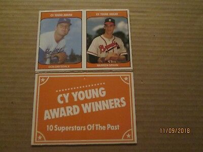 1985 TCMA Cy Young Award Winners Set COMPLETE