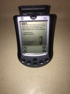 Palm m125 organizer PDA/PIM w/ stylus and case