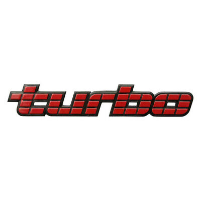 "Badge ""Turbo"" Bootlid Vl Commodore Bt1 Calais Berlina Executive (1)"