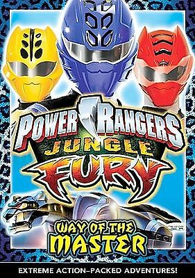 Power Rangers Jungle Fury WAY OF THE MASTER DVD 2008 NEW SEALED RARE OOP