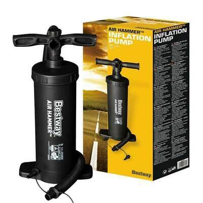 Bestway Air Hammer Inflation Pump Swimming Pool Air Bed Inflate Toy Outdoor New