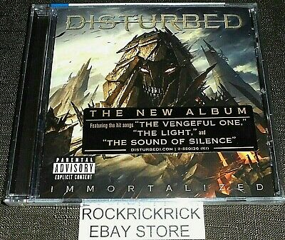 Disturbed - Immortalized -13 Track Cd- (Reprise - 550136-2) Brand New Sealed