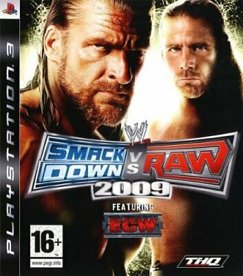 Wwe Smackdown Vs Raw 2009. [Playstation 3] - [THQ]
