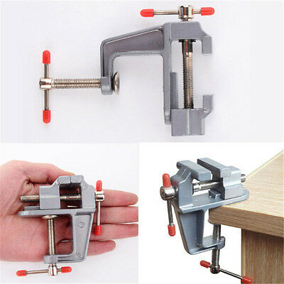 35 Aluminium Mini-Schraubstock Kleine Juweliere Hobby Clamp On Table Vice K F0W4