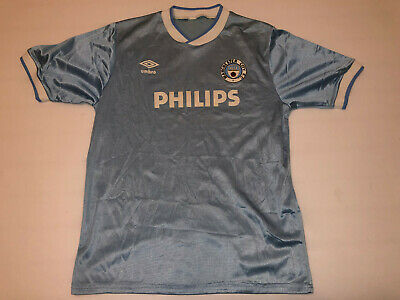 Manchester City 1985 / 87 Philips Jersey Umbro shirt vintage N457