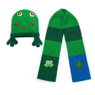 Kidorable Frog Knitwear Kids Childrens Knitted Winter Accessories Unisex Gift