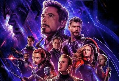 2 Adult Avengers Endgame Tickets in North Brunswick, New Jersey April 26th @ 7pm
