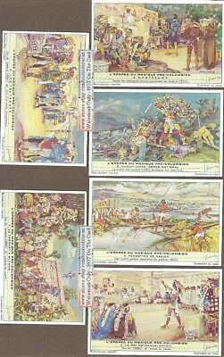 Pre Columbian Mexico Native Indian History 6 Nice 65+ Y/O Trade Ad Cards