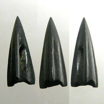 ONE ANCIENT SCYTHIAN BRONZE ARROWHEAD____BC Era____Socketed____LOWER UKRAINE