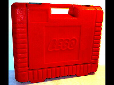 LEGO RED TRAVEL Carrying Case Storage Project Box 1985