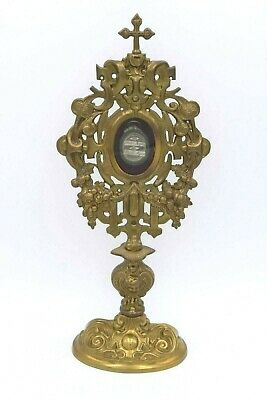 + Reliquary w/1st class Relics of St. Peter Apostle & St. Paul Apostle + (CA500)