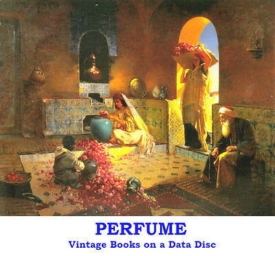 Perfume Fragrances How to Make Scent Collection 15 Vintage Books on Data Disc