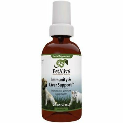 Petalive Immunity & Liver Support Spray Cats Dogs