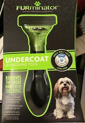 Furminator Undercoat Deshedding Tool Small Dog To 25 lb.  short  Hair