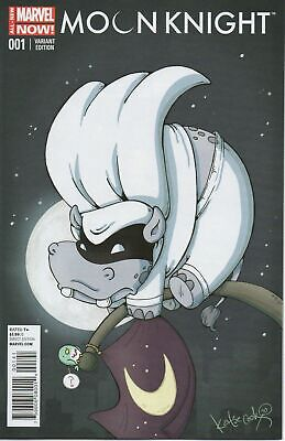 Moon Knight #1 Katie Cook Animal Variant Marvel 2014