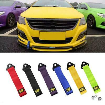 Towing Rope Racing Car Universal Strap Bumper Trailer Strength Nylon for Fod OMP
