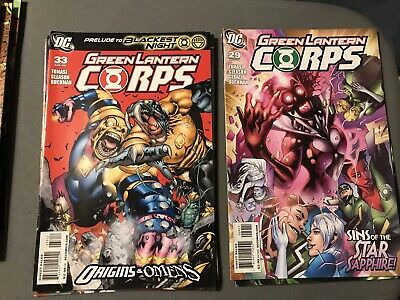 DC Comics Lot Of 29 Green Lantern Corps Good Condition