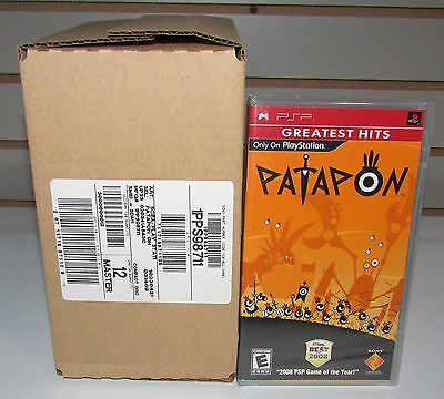 1 Sealed Case of 12 Patapon Games for PSP Wholesale Lot Brand New