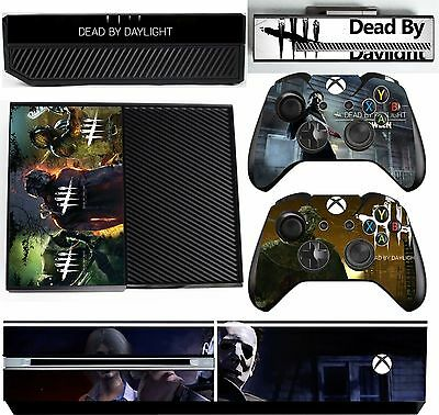 Dead By Daylight Xbox One *Textured Vinyl ! * Protective Skin Decal Wrap Sticker