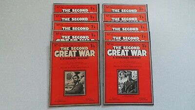 10 The Second Great War Magazines  41 - 50