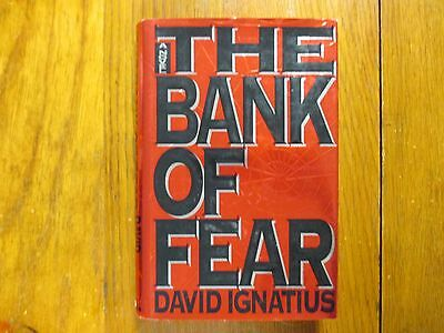 "DAVID IGNATIUS  Signed  Book (""THE  BANK  OF  FEAR""-1994 First Edition Hardback)"