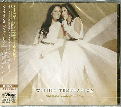 Within Temptation-Paradise (What About Us?) Feat. Tarja-Japan Cd C94