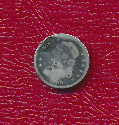 1835 Capped Bust Hal;f Dime **very Nice Circulated Type Coin**