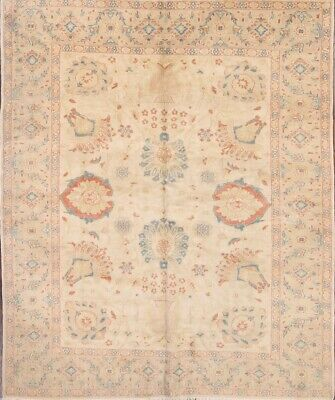 "NEW 6X8 VEGETABLE DYE OUSHAK EGYPTIAN HAND-KNOTTED AREA RUG WOOL 7' 5"" x 6' 4"""