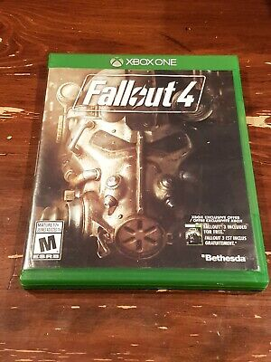 Fallout 4 (Microsoft Xbox One, 2015) Complete