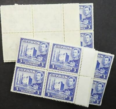 EDW1949SELL : CYPRUS 1942 Stanley Gibbons #156a. 120 stamps. All VF MNH Cat £390