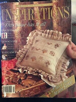 INSPIRATIONS magazine #13 - 1997 - Beautiful Embroidery - with pattern sheets