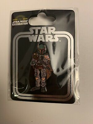 Boba Fett Pin Star Wars Celebration 2019 Chicago Exclusive Show Store Incentive