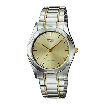 Casio Men's  'Quartz' Two-Tone Stainless Steel Watch - Gold-tone
