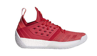 newest f0701 cdfcd Adidas Harden Vol. 2 Pioneer BC1015 Basketball Shoes Red White New Men 6.5