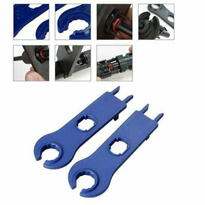 2Pcs MC4 Solar Panel Connector Disconnect Tool Spanner Wrench for PV Wire Cable