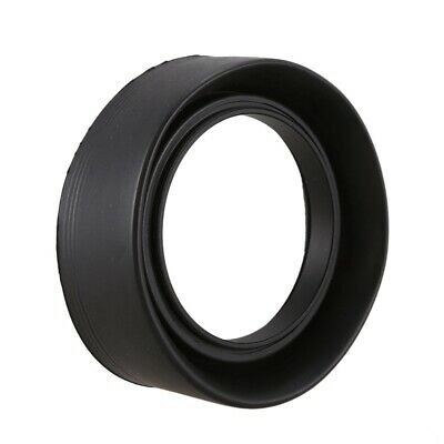 52mm 3-Stage Collapsible Rubber Lens Hood For  50/1.8 Nikon 18-55 50/1.8D E6U8