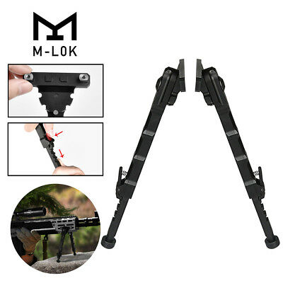 Tactical M-LOK Rail Handguard Rifle Bipod Adjustable 7.5-9 Inches MLOK US