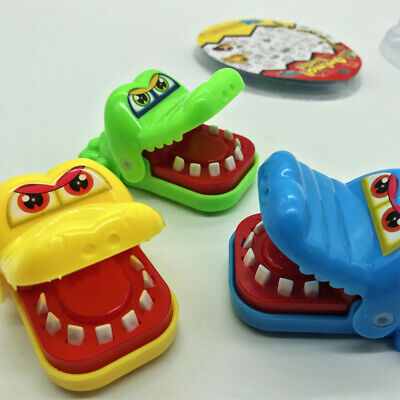 Funny Small Crocodile Mouth Dentist Bite Finger Toy Family Game For Kids Xmas